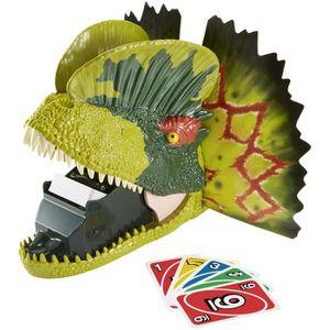 JEU SOCIÉTÉ - PLATEAU UNO - Extrême Jurassic World