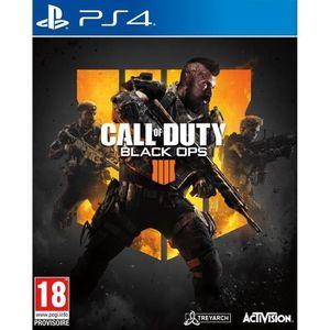 JEU PS4 Call of Duty Black OPS 4 Jeu PS4