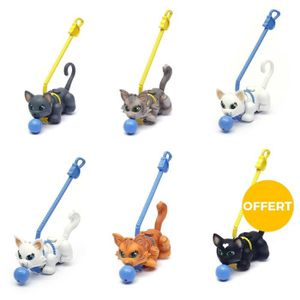 FIGURINE - PERSONNAGE PET PARADE 6 Chats dont 1 OFFERT