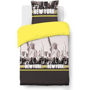 housse de couette ado achat vente housse de couette ado pas cher cdiscount. Black Bedroom Furniture Sets. Home Design Ideas