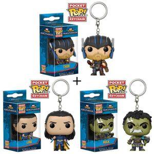 PACK DE GOODIES Pack de 3 porte-clés Pop! Thor