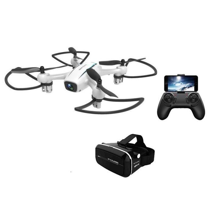 DRONE CDTS Drone Wave-Razor - Ø 17,50 cm + Casque réalit
