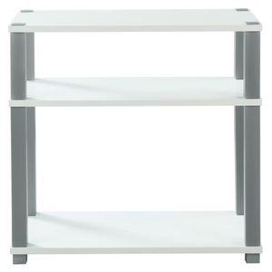meuble tv 80 cm achat vente meuble tv 80 cm pas cher soldes d s le 10 janvier cdiscount. Black Bedroom Furniture Sets. Home Design Ideas