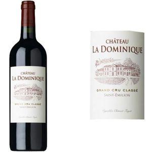 VIN ROUGE Château La Dominique Grand Vin de Bordeaux Saint E