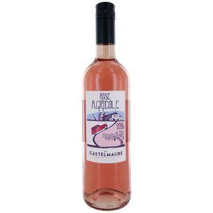 VIN ROSÉ Rosé Agricole  2016 Castelmaure - Vin rosé du Sud