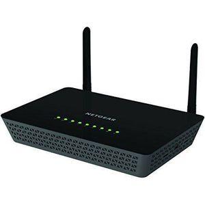 MODEM - ROUTEUR NETGEAR  Routeur Wi-Fi 1200 Mbps Noir R6220-100PES