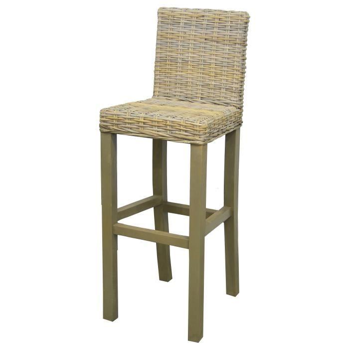 alice tabouret de bar en bois massif beige rotin naturel scandinave l 37 x p 33 cm achat. Black Bedroom Furniture Sets. Home Design Ideas
