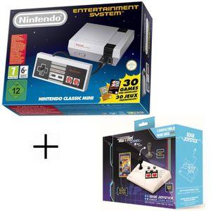 JEU CONSOLE RÉTRO Console Nintendo Classic Mini NES + Joystick EDGE
