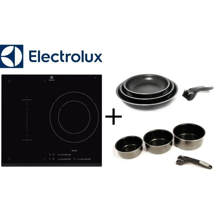 PACK cuisson ELECTROLUX: E6113IFK table Induction-3 zones-7200W ...