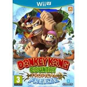 JEU WII U Donkey Kong Country: Tropical Freeze Jeu Wii U