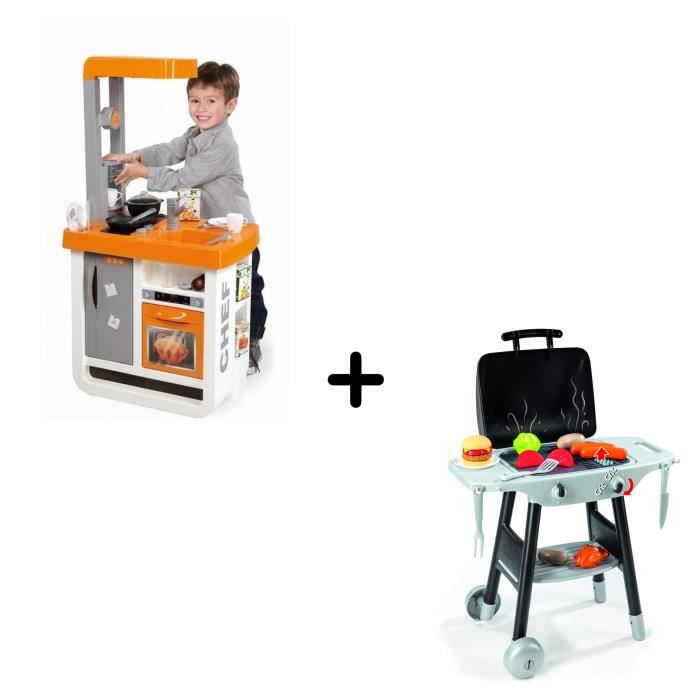 Pack Exclusif - SMOBY Cuisine + Plancha - Achat / Vente dinette ...