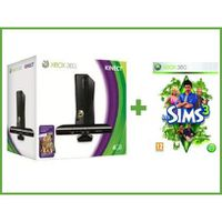 CONSOLE XBOX 360 PACK XBOX 360 4GO KINECT + SIMS 3