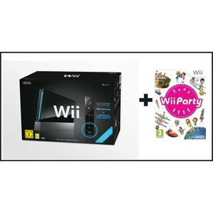 CONSOLE WII Wii NOIRE SPORTS RESORT + Wii PARTY