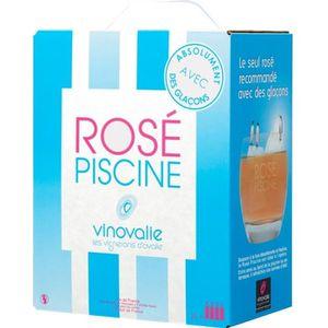 VIN ROSÉ BIB 3L Rosé Piscine vin rosé