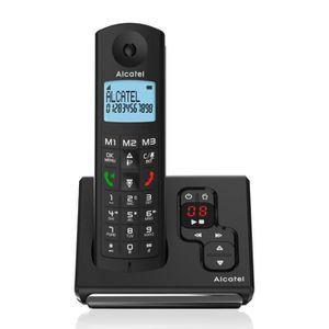 Téléphone fixe Alcatel F690 Solo Téléphone Sans Fil Répondeur Noi