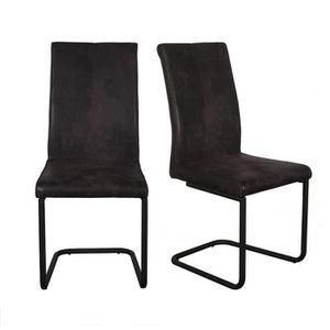 CHAISE FINLANDEK Lot de 2 chaises de salle à manger PELLI