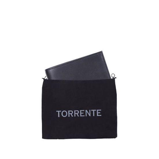TORRENTE COUTURE Portefeuille Cuir LENNI Noir Mixte Noir - Achat   Vente  portefeuille 3549560031309 - Cdiscount 38f542e3d11