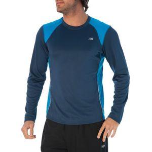 prix plus bas avec 3d54d ea453 NEW BALANCE T-shirt Running Homme - Prix pas cher - Cdiscount
