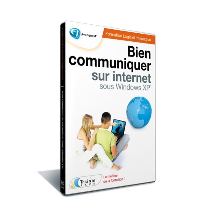 LOGICIEL LOISIRS Avanquest Train In Pack Bien Communiquer sur Inter