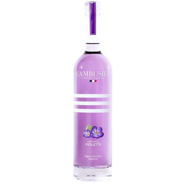 DIGESTIF EAU DE VIE Cambusier - Liqueur de Violette d'Occitanie - 16,0