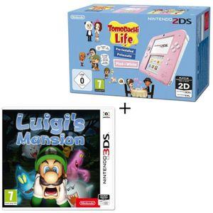 CONSOLE 2DS Console 2DS Rose / Blanc avec Jeu Tomodachi Life P