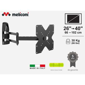 FIXATION - SUPPORT TV MYBRACKET MB200 FULL MOTION Support mural pour TV