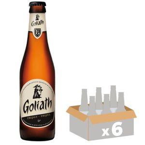 BIÈRE BRASSERIE DES GEANTS Goliath Triple Bière Blonde -