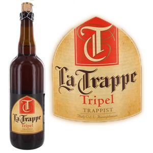 BIÈRE Trappe triple - Bière Blonde - 75 cl - 8°