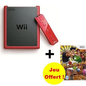 CONSOLE WII CONSOLE WII MINI + PUNCH-OUT