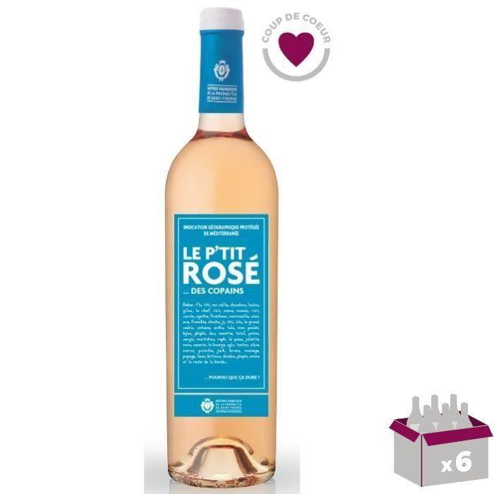 VIN ROSÉ Le P'tit Rosé des Copains IGP Méditerranée  - Vin