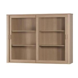 vitrine achat vente vitrine pas cher cdiscount. Black Bedroom Furniture Sets. Home Design Ideas
