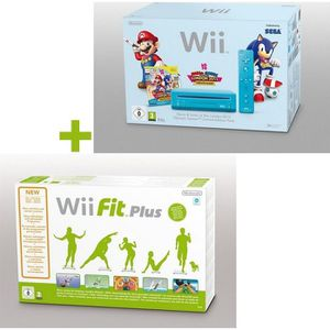 CONSOLE WII Wii MARIO & SONIC AUX J.O. DE LONDRES + Wii FIT