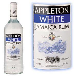 RHUM Appleton white  40%  Rhum blanc