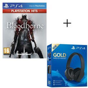 JEU PS4 Pack PlayStation : Casque Sans Fil Sony Gold Virtu
