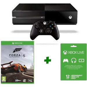 CONSOLE XBOX ONE Console XBOX One + Jeu Forza Motorsport 5 + Live