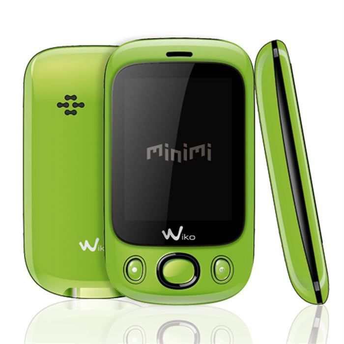 wiko minimi vert achat t l phone portable pas cher avis. Black Bedroom Furniture Sets. Home Design Ideas