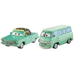 VOITURE - CAMION CARS - Pack 2 Véhicules Rusty & Dusty