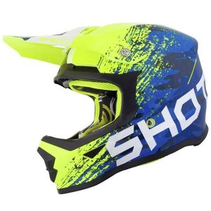 CASQUE MOTO SCOOTER SHOT Casque Cross Furious Kid Counter - Enfant - B