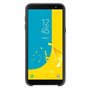 HOUSSE - ÉTUI Samsung Coque double protection J6 - Noir