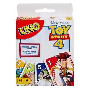 JEU D'APPRENTISSAGE UNO - Uno Toy Story 4 - Jeu de Cartes Famille aux
