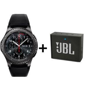 MONTRE CONNECTÉE Samsung Gear S3 Frontier + 1 enceinte JBL GO