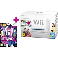 CONSOLE WII PACK Wii FAMILY EDITION + JUST DANCE 4