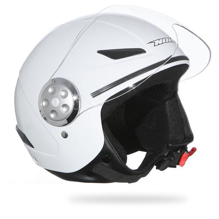 nox casque jet enfant n216 blanc achat vente casque moto scooter nox casque jet enfant n216. Black Bedroom Furniture Sets. Home Design Ideas