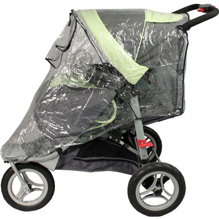 bambisol habillage pluie pour poussette 3 roues. Black Bedroom Furniture Sets. Home Design Ideas