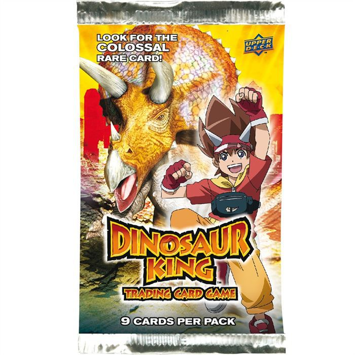 Dinosaur king booster achat vente carte a collectionner cdiscount - Carte dinosaure king ...