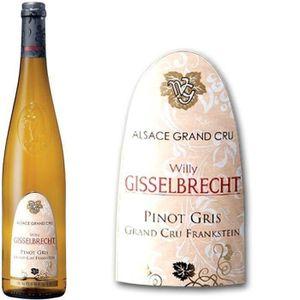 VIN BLANC Gisselbrecht Alsace Pinot Gris Grand Cru Franksein