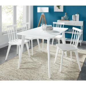 TABLE À MANGER COMPLÈTE MONTAUK Ensemble table à manger de 4 à 6 personnes