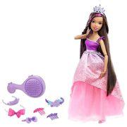 POUPÉE BARBIE Barbie Grande Princesse Brune