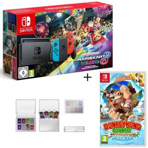 CONSOLE NINTENDO SWITCH Pack Console Nintendo Switch Mario Kart 8 Deluxe (