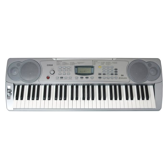 CLAVIER MUSICAL DELSON Clavier 61 touches CK-68